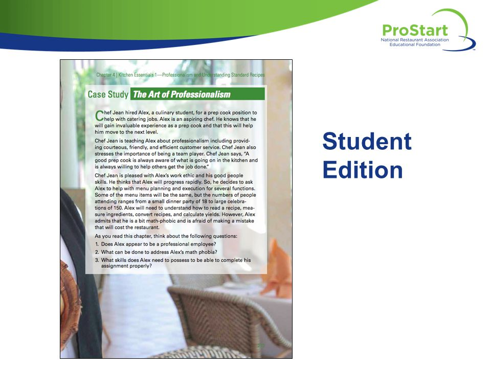 Student Edition [show case study: Level 1 SE (p. 213). . . ]